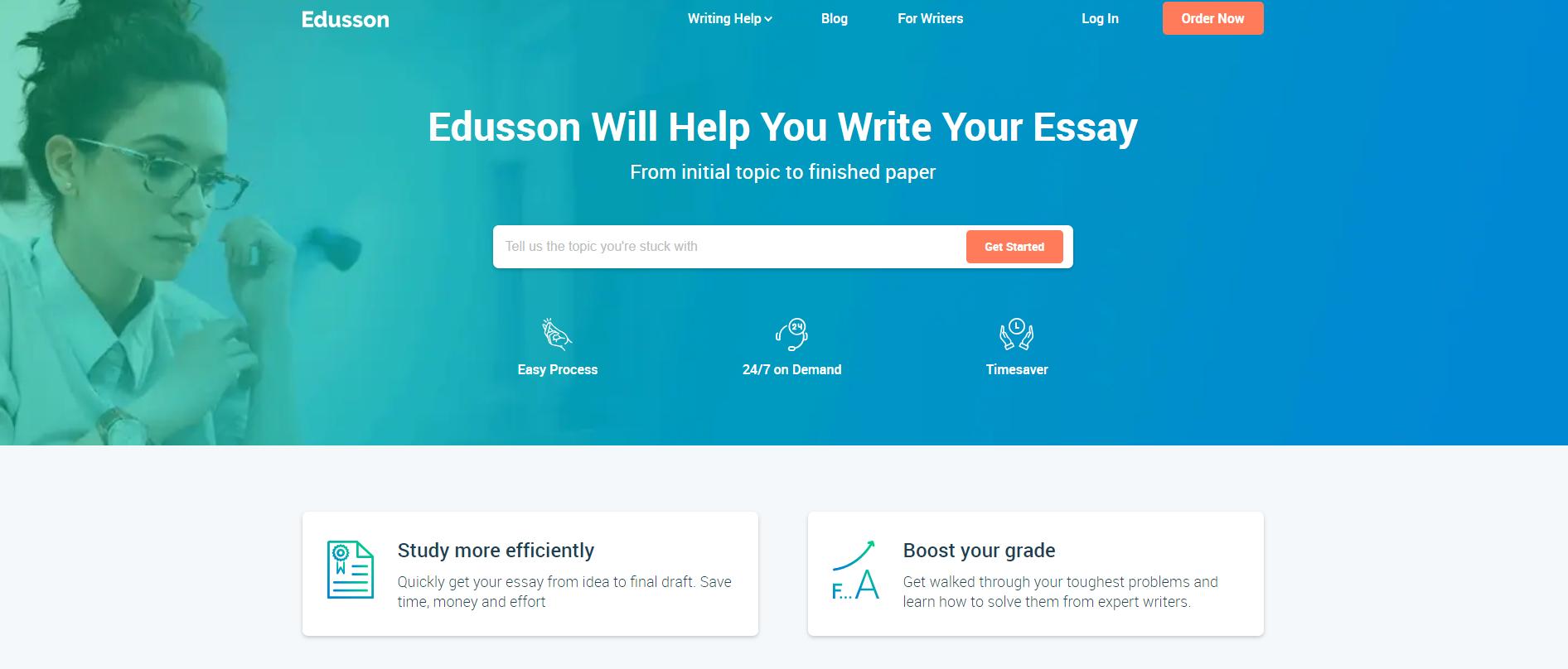 Edusson Homepage