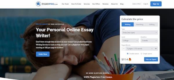 essaypro-website