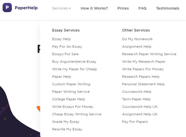 Paperhelp Services