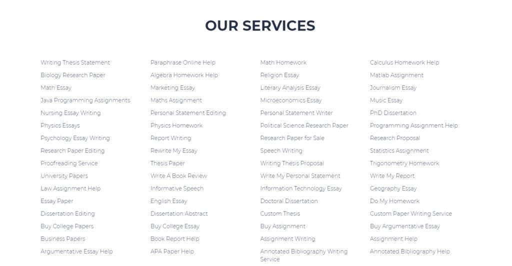 Samedayessay Services