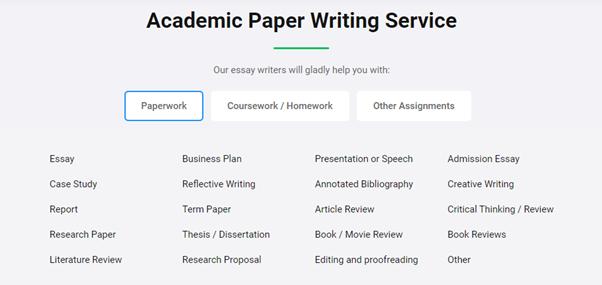 Essaypro Paperworks