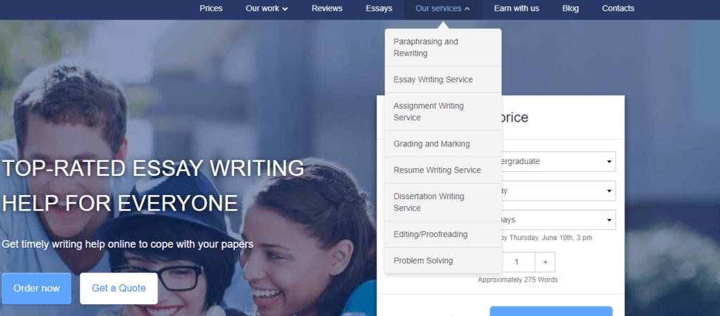 Speedypaper List of Services